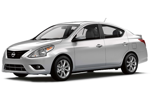 Nissan Versa, Chevrolet Malibu or similar